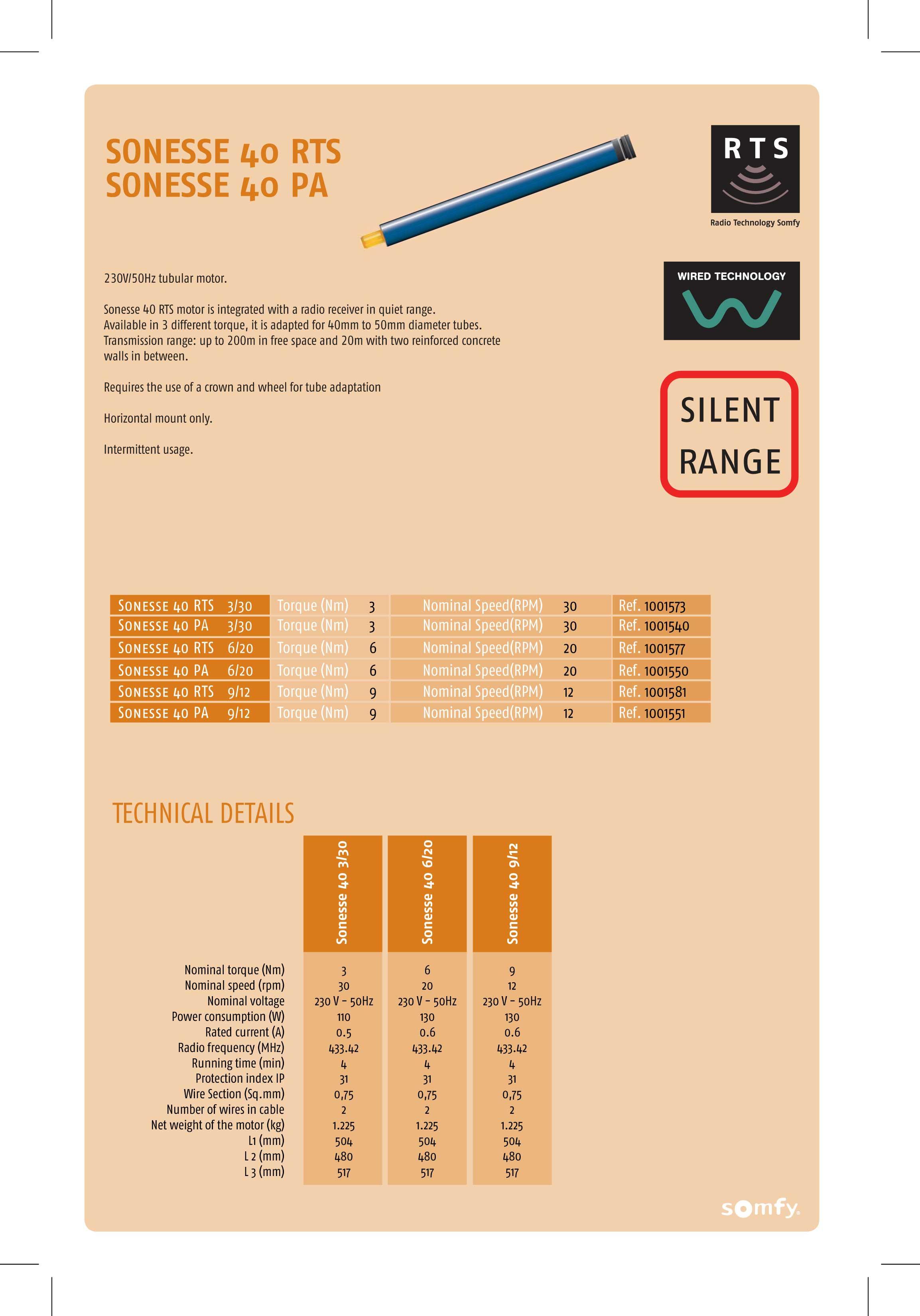 Somfy Sonesse 40 Rts Wiring Diagram Electrical Motor Motors Controls Proshade Sal Rh Proshadesal Com Socket Systems Diagrams